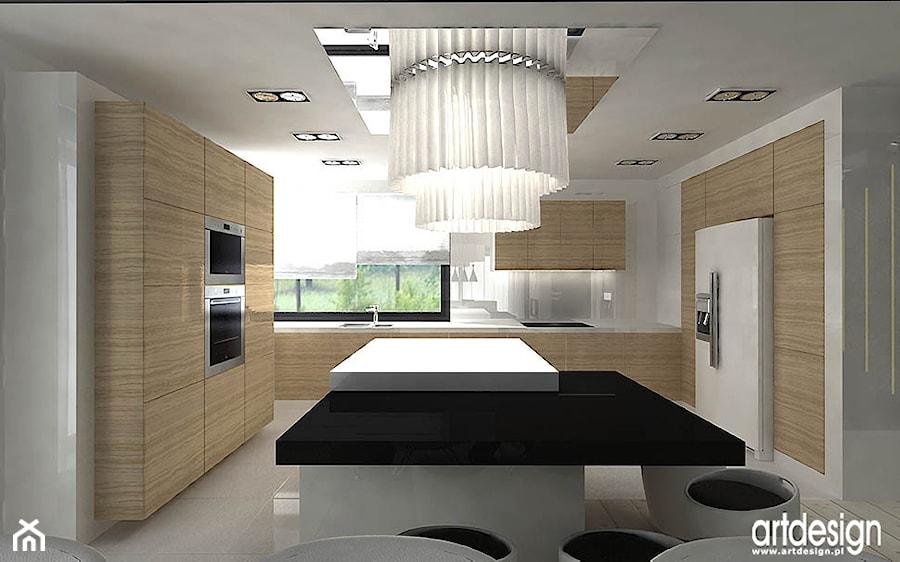 nowoczesna kuchnia  projekt  zdjęcie od ARTDESIGN architektura wnętrz