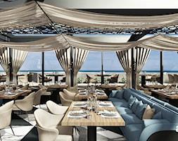 Aranżacja restauracji nad morzem - zdjęcie od ARTDESIGN architektura wnętrz - Homebook