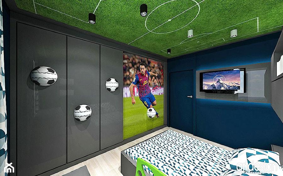 pok j dla ch opca aran acja zdj cie od artdesign architektura wn trz homebook. Black Bedroom Furniture Sets. Home Design Ideas