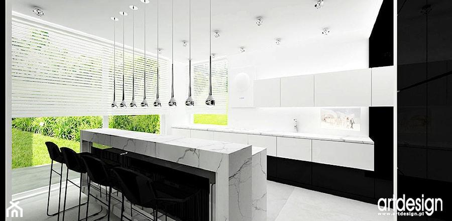 projektowanie kuchni - zdjęcie od ARTDESIGN architektura wnętrz - homebook