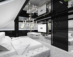 luksusowa sypialnia w stylu nowoczesnym - zdjęcie od ARTDESIGN architektura wnętrz