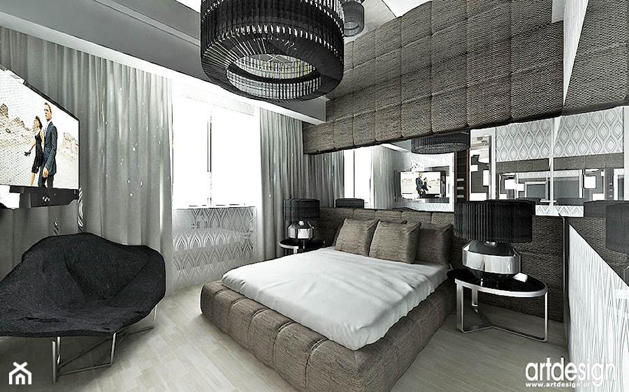 Nowoczesna Sypialnia Projekty Zdjęcie Od Artdesign