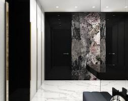 LISTEN TO MY HEARTBEAT | I | Wnętrza domu - Duży czarny szary hol / przedpokój, styl nowoczesny - zdjęcie od ARTDESIGN architektura wnętrz