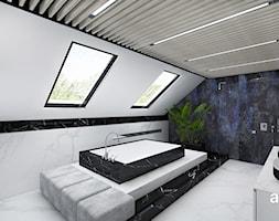 aranżacja wygodnej łazienki na poddaszu - zdjęcie od ARTDESIGN architektura wnętrz