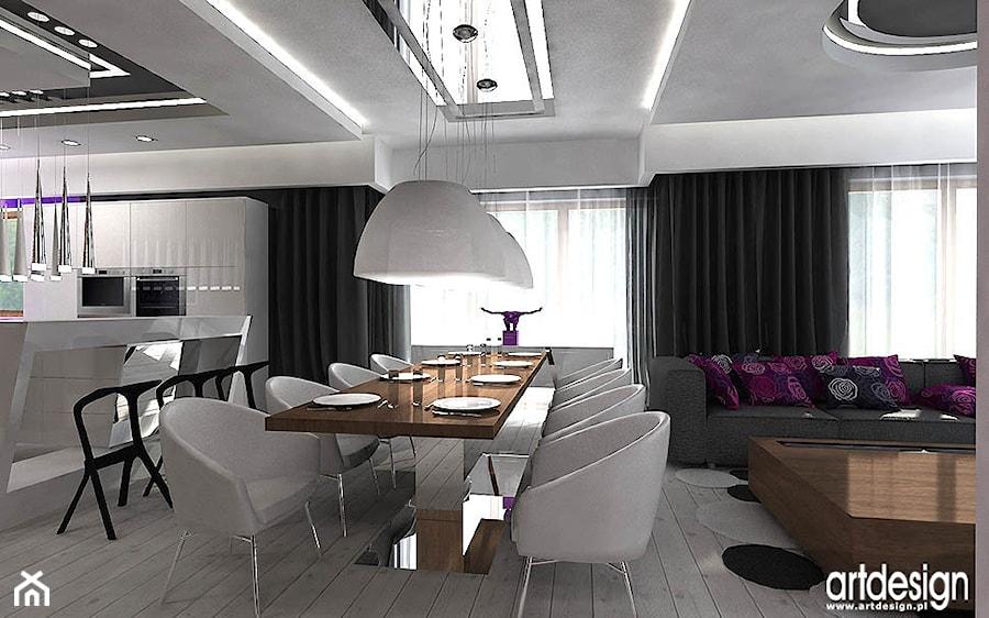 Kuchnia Otwarta Na Jadalnie I Salon Zdjęcie Od Artdesign
