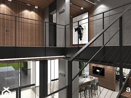 Aranżacje wnętrz - Schody: projekt klatki schodowej - ARTDESIGN architektura wnętrz. Przeglądaj, dodawaj i zapisuj najlepsze zdjęcia, pomysły i inspiracje designerskie. W bazie mamy już prawie milion fotografii!