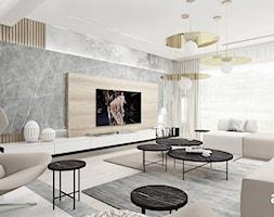 PERFECT MATCH   I   Wnętrza domu - Duży salon, styl nowoczesny - zdjęcie od ARTDESIGN architektura wnętrz - Homebook