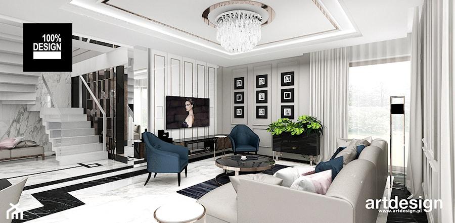 PEARL OF WISDOM | Wnętrza domu - Salon, styl klasyczny - zdjęcie od ARTDESIGN architektura wnętrz