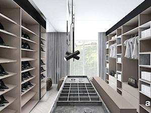 LEAVE NO STONE UNTURNED | II | Wnętrza domu - Duża garderoba, styl nowoczesny - zdjęcie od ARTDESIGN architektura wnętrz