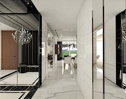 elegancki hol w apartamencie - zdjęcie od ARTDESIGN architektura wnętrz