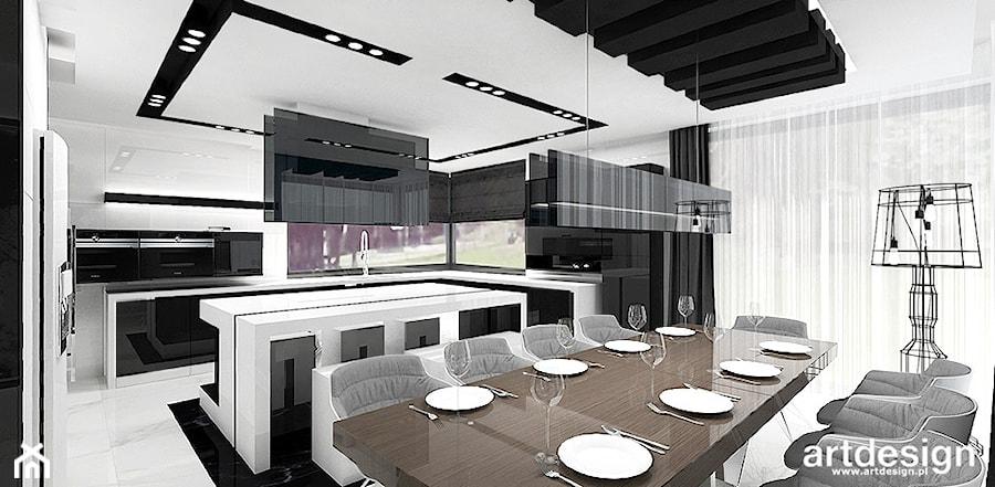 Kuchnia Połączona Z Jadalnią Zdjęcie Od Artdesign