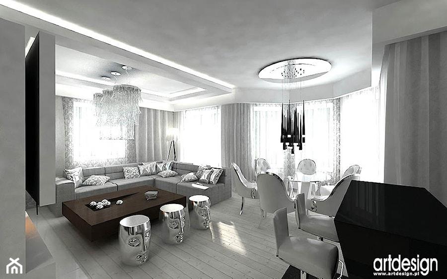 Nowoczesny Salon Aranzacja Zdjecie Od Artdesign Architektura