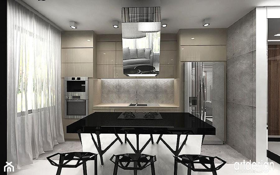 projekt nowoczesnej kuchni  zdjęcie od ARTDESIGN architektura wnętrz -> Kuchnia Art Design