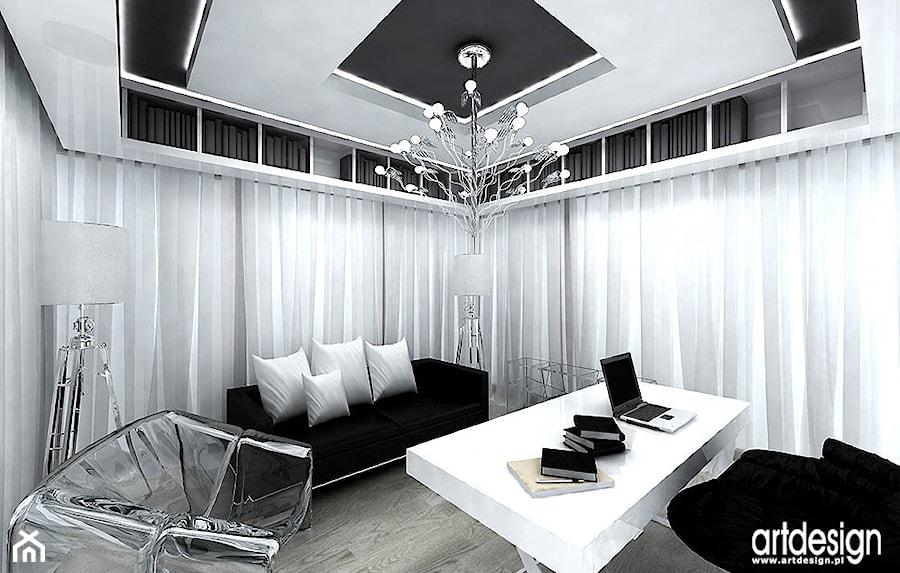 Aranżacja Biura W Domu Zdjęcie Od Artdesign Architektura Wnętrz