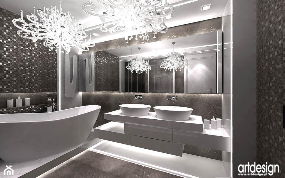 nowoczesna łazienka - zdjęcie od ARTDESIGN architektura wnętrz - Homebook