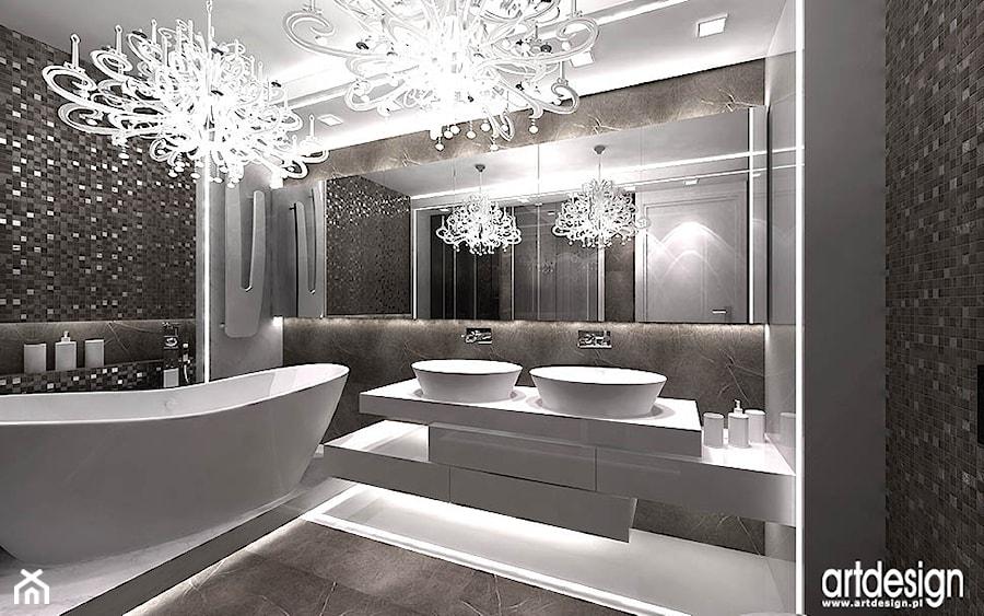 nowoczesna łazienka - zdjęcie od ARTDESIGN architektura wnętrz