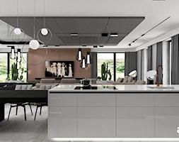 Kuchnia otwarta na salon - zdjęcie od ARTDESIGN architektura wnętrz - Homebook
