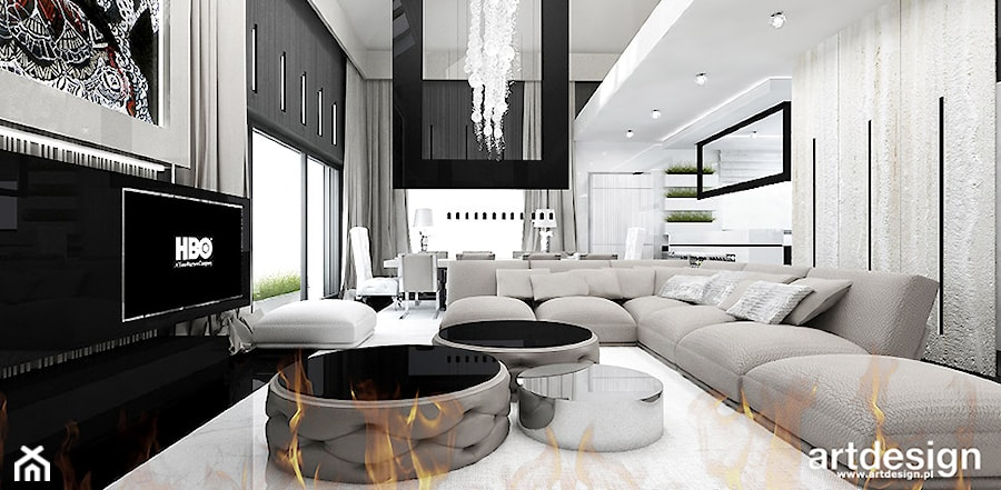 Luksusowe Wnętrza Domów Zdjęcie Od Artdesign Architektura
