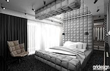 aranżacje wnetrz sypialni - zdjęcie od ARTDESIGN architektura wnętrz
