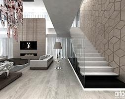 schody+i+salon+-+aran%C5%BCacje+du%C5%BCego+domu+-+zdj%C4%99cie+od+ARTDESIGN+architektura+wn%C4%99trz