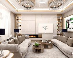 luksusowa+aran%C5%BCacja+salonu+w+apartamencie+-+zdj%C4%99cie+od+ARTDESIGN+architektura+wn%C4%99trz