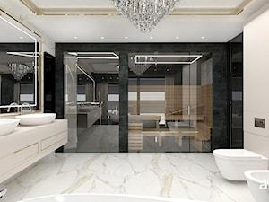 luksusowa łazienka z sauną - zdjęcie od ARTDESIGN architektura wnętrz