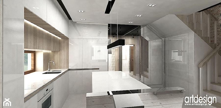 nowoczesne wnętrza kuchni zdjęcie od artdesign