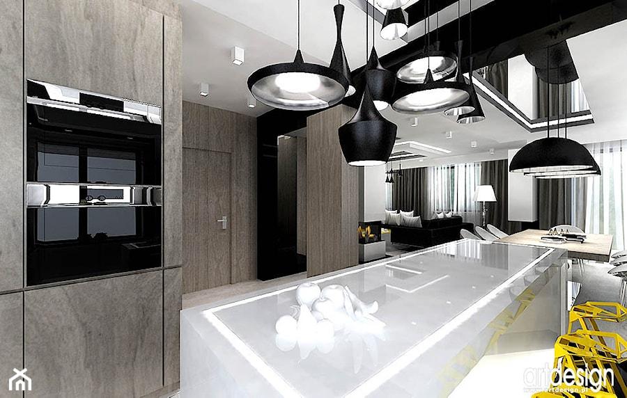 kuchnie design wnętrz  zdjęcie od ARTDESIGN architektura wnętrz -> Kuchnia Art Design
