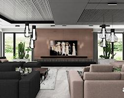 Nowoczesna aranżacja salonu - zdjęcie od ARTDESIGN architektura wnętrz - Homebook