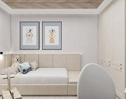 Delikatna aranżacja pokoju dla dziecka - zdjęcie od ARTDESIGN architektura wnętrz - Homebook