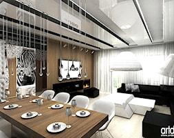 pokój dzienny i jadalnia - zdjęcie od ARTDESIGN architektura wnętrz