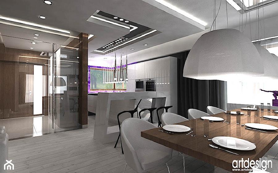 kuchnia i jadalnia  aranżacje wnetrza  zdjęcie od ARTDESIGN architektura wn
