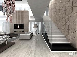 DNA OF DESIGN. Wnętrza rezydencji. - Schody - zdjęcie od ARTDESIGN architektura wnętrz