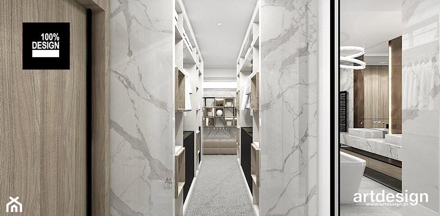 Aranżacje wnętrz - Garderoba: PERFECT MATCH   II   Wnętrza domu - Mała garderoba przy łazience, styl nowoczesny - ARTDESIGN architektura wnętrz. Przeglądaj, dodawaj i zapisuj najlepsze zdjęcia, pomysły i inspiracje designerskie. W bazie mamy już prawie milion fotografii!