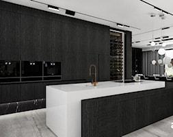 Otwarta kuchnia z wyspą - zdjęcie od ARTDESIGN architektura wnętrz - Homebook