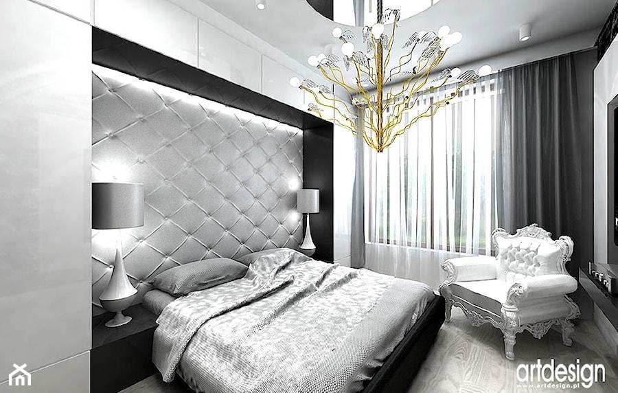 aranżacja sypialni - projekty - zdjęcie od ARTDESIGN ...