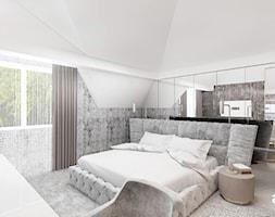 jasny wystrój sypialni - zdjęcie od ARTDESIGN architektura wnętrz
