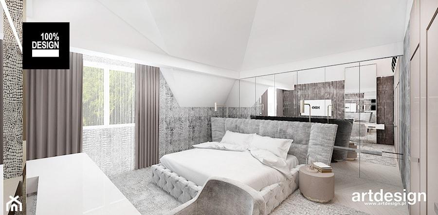 Jasny Wystrój Sypialni Zdjęcie Od Artdesign Architektura