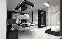 jadalnia w domu jednorodzinnym - zdjęcie od ARTDESIGN architektura wnętrz