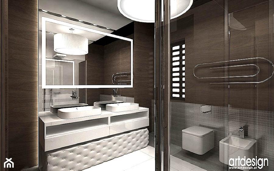 Aranżacje Nowoczesnych łazienek Zdjęcie Od Artdesign Architektura