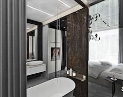 aranżacja łazienki przy sypialni - zdjęcie od ARTDESIGN architektura wnętrz