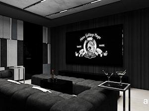 REACH FOR THE STARS   VII   Pokój kinowy w nowoczesnym domu
