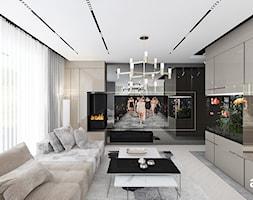 nowoczesny salon - zdjęcie od ARTDESIGN architektura wnętrz