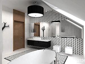 luksusowy salon kąpielowy na poddaszu - zdjęcie od ARTDESIGN architektura wnętrz