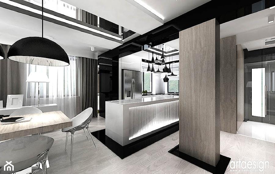 nowoczesne projekty kuchni  zdjęcie od ARTDESIGN architektura wnętrz -> Kuchnia Art Design