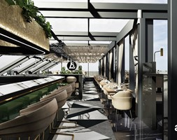 Projekt wnętrza restauracji - zdjęcie od ARTDESIGN architektura wnętrz - Homebook