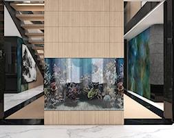 BIRD'S EYE VIEW | I | Wnętrza domu - Duży czarny salon, styl nowoczesny - zdjęcie od ARTDESIGN architektura wnętrz