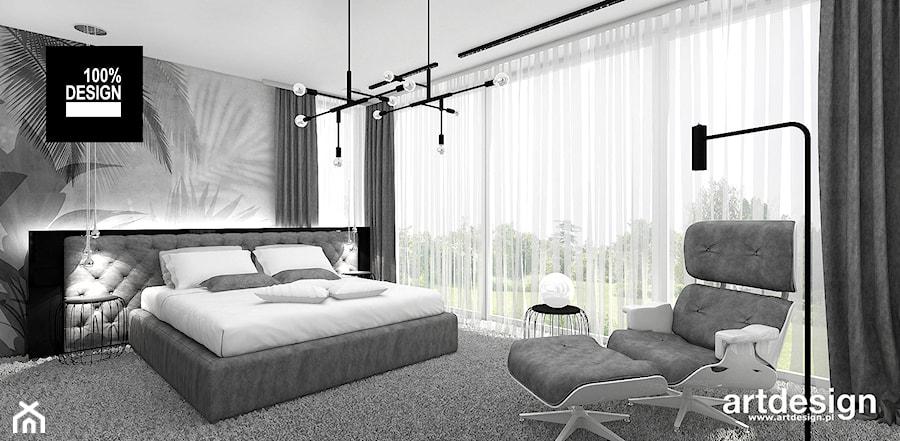 Sypialnia W Szarościach Zdjęcie Od Artdesign Architektura