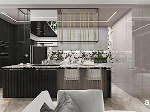 VARIETY IS THE SPICE OF LIFE   Wnętrza apartamentu - kuchnia i hol