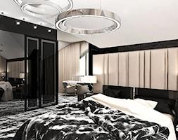 A BREATH OF FRESH AIR | II | Wnętrza domu - Duża czarna sypialnia małżeńska na poddaszu, styl eklektyczny - zdjęcie od ARTDESIGN architektura wnętrz